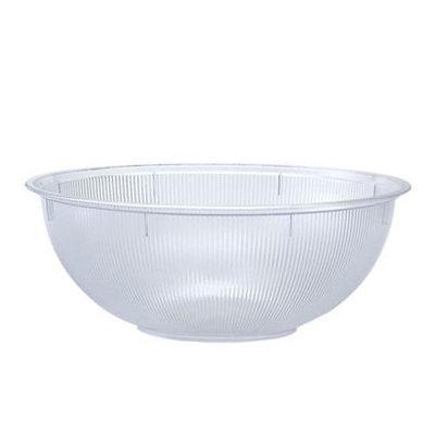 Party Dimensions 60241 160 Oz Clear Rigid Serving Bowl - 24 Per Case