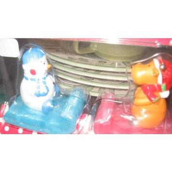 Snowman Reindeer Sleigh Soap Bodynature Holiday Bath Set