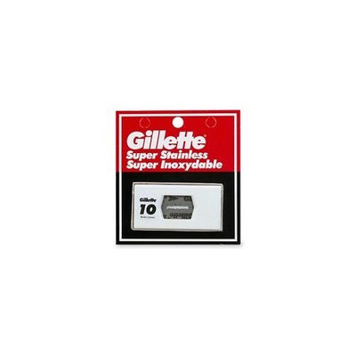 Gillette Super Stainless Super Inoxydable Blades
