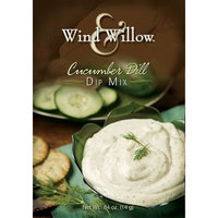 Wind and Willow Wind & Willow Cucumber Dill Dip, .84-Ounce Boxes (Pack of 4)