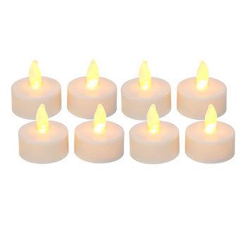 Essential Home Flameless White Tea Light Candles