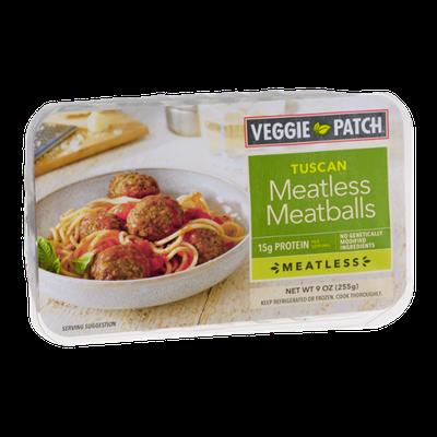 Veggie Patch Tuscan Meatless Meatballs