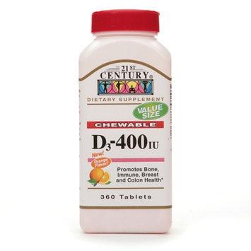 21st Century Vitamin D3  400 IU