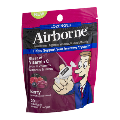 Airborne Lozenges with Vitamin C