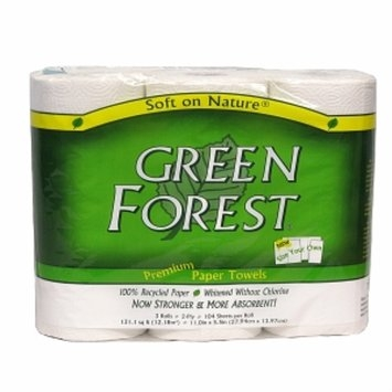 Green Forest Premium Paper Towels