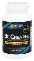 Natural Stacks - BioCreatine - 120 Vegetarian Capsules