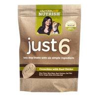 Nutrish Just 6 Dog Treats, Chicken Crunchies Recipe