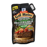 McCormick Grill Mates Steakhouse Burgers Sauce Mix-Ins Roasted Garlic & Sautéed Onion