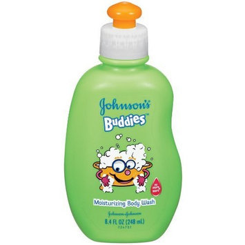 Johnson's Buddies Clean-You-Can-See Body Wash, 8.4-Ounce (Pack of 6)