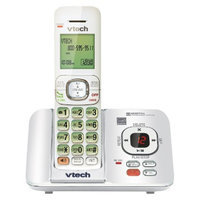 VTech DECT 6.0 Cordless Phone System (CS6529W) with Answering Machine,