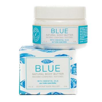 Olivina Natural Body Butter, Blue, 4 fl oz