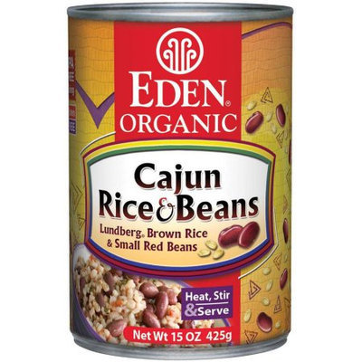 Eden Organic EDEN Cajun Rice & Small Red Beans, Organic, 15 Ounce (Pack of 6)