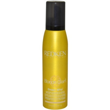 Blonde Glam Dream Whip Mousse Unisex Mousse by Redken, 5.4 Ounce
