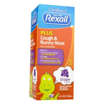 DG Health Rexall Children's Plus Cough & Runny Nose - Grape, 4 oz