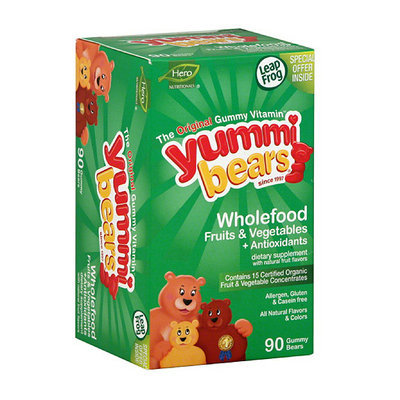 Yummi Bears Wholefood + Antioxidants Dietary Supplement