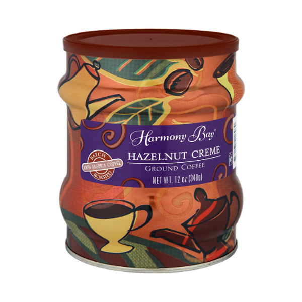 Harmony Bay Hazelnut Creme Ground Coffee