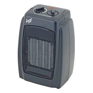 Comfort Zone 5,120-BTU Multi-Purpose Ceramic Heater, Black CZ442WM