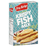 Fry Krisp Krispy Fish Mix, 10-Ounce (Pack of 12)