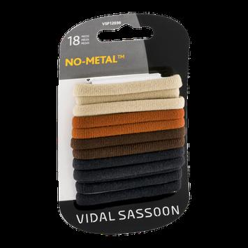 Vidal Sasson No-Metal Neutral Nylon Elastics - 18 CT