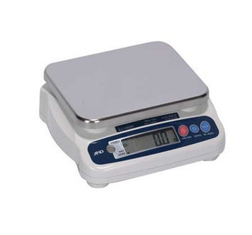 A & D WEIGHING SJ-1000HS Gnrl Purpose Scale, SS Pltfrm,2.2 lb. Cap