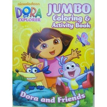 Dora Jumbo Colouring Book Dora the Explorer Jumbo Coloring and Activity Book [Toy]