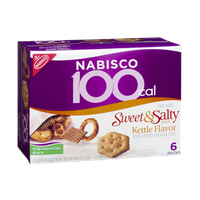 Nabisco 100 Cal Sweet & Salty Mix Kettle Flavor Baked Snacks - 6 PK