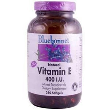 Vitamin E 400IU Bluebonnet 250 Softgel
