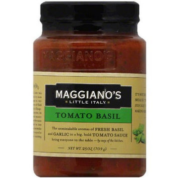 Maggiano's Little Italy Tomato Basil Pasta Sauce, 25 oz, (Pack of 12)