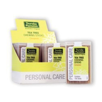 Nature's Plus Thursday Plantation - Tea Tree Cinnamon Toothpick, , 6 packs