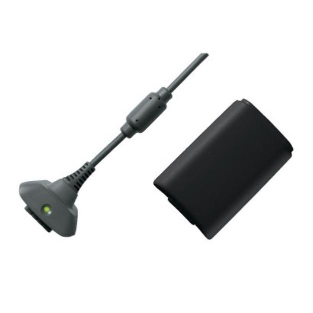 Microsoft XBOX 360 Play and Charge Kit (XBOX 360)