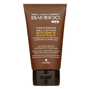 ALTERNA BAMBOO Men Thickening Gel Lotion with SPF 15 Scalp Shield