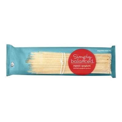 Simply Balanced Organic Spaghetti Pasta 16 oz