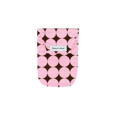 Diapees and Wipees Diaper Bag - Pink Disco Dot