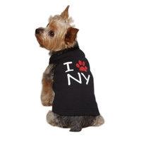 Casual Canine Cotton I Paw NY City Dog Tank, X-Small, 10-Inch