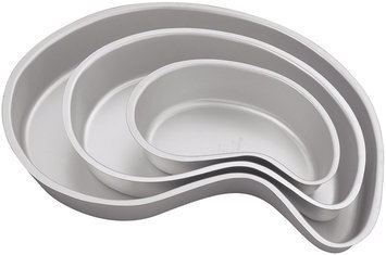 Performance Cake Pan Set 3/Pkg- Paisley