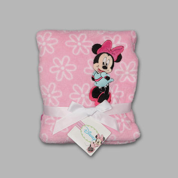 Crown Crafts Infant Products, Inc. Disney Baby Minnie Mouse Infant's Fleece Blanket - CROWN CRAFTS INFANT PRODUCTS, INC.