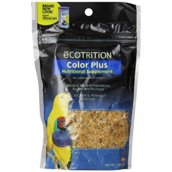 8In1 Pet Products eCOTRITION Color Plus Nutritional Supplement for Canary/Finch, 7-Ounce