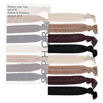 SEPHORA COLLECTION Ribbon Hair Ties Neutral Tones 1 set