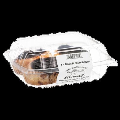 Egg Shells Bavarian Cream Donuts - 3 CT