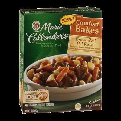 Marie Callender's Comfort Bakes Pot Roast Braised Beef Pot
