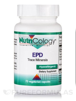 EPD Trace Minerals 75 Caps by Nutricology/ Allergy Research Group