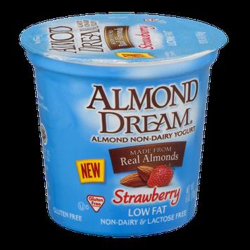 Almond Dream Low Fat Non-Dairy Yogurt Strawberry
