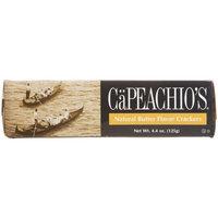 Ca Peachio's Capeachio's Butter Flavor Cracker, 4.4-Ounce Boxes (Pack of 12)