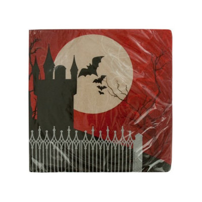 Creative Converting BB666901 Frightful Luncheon Napkins -16 Count