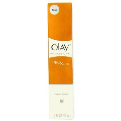 Olay Professional Pro X Clear UV Moisturizer SPF 15, 1.70 Ounce