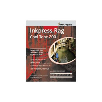 Inkpress Rag Cool Tone 200 gsm? 15 mil, Double Sided,8.5
