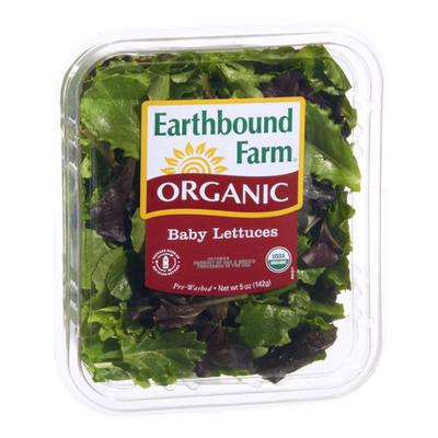 Earthbound Farm Organic Baby Lettuces Salad