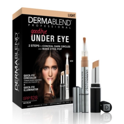 Dermablend Goodbye Under Eye Quick Fix Kit, Bronze, 1 set