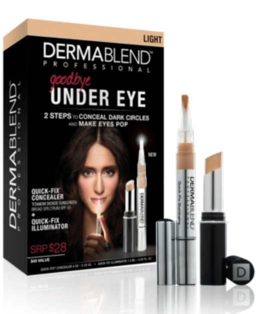 Dermablend Goodbye Under Eye Quick Fix Kit Bronze 1 Set Reviews