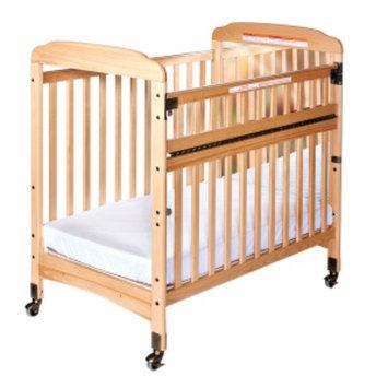 Child Craft Bella Professional Child Care SafeAccess Compact Crib, Mirror Ends, Natural, 1 ea